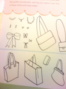 Just some of the tracings in the book you can add in addition to the clings!